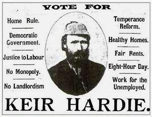 keir hardie poster labour