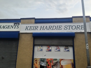 Keir Hardie Store on Keir Hardie Road in Stevenston