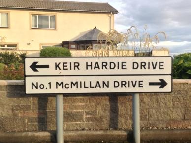 Keir Hardie Drive in Ardrossan